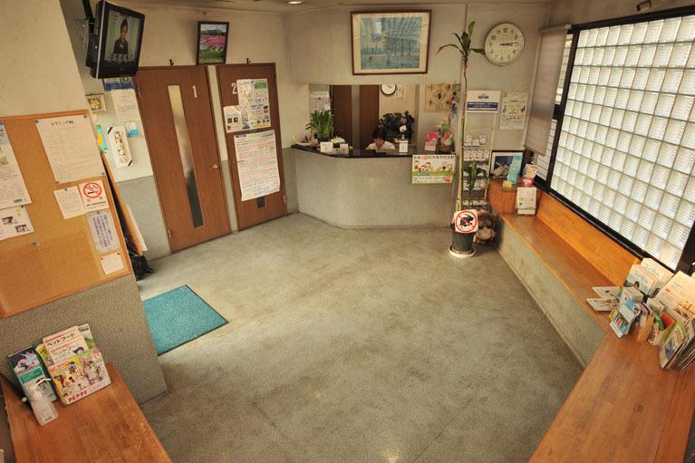 待合室の画像